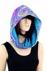 Short Reversible Festival Hood - Coquetry Clothing