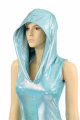 Seafoam Hooded Catsuit - Coquetry Clothing