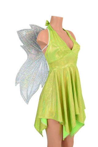 Tink Pixie Hemline Fairy Dress (+Fairy Wings!) - Coquetry Clothing