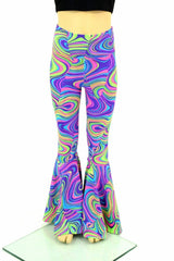 Kids Glow Worm Bell Bottom Flares - Coquetry Clothing