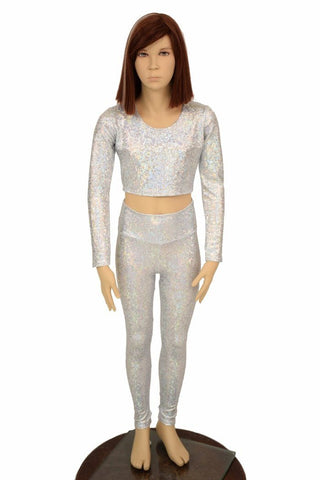 Girls Holo Leggings & Top Set - Coquetry Clothing