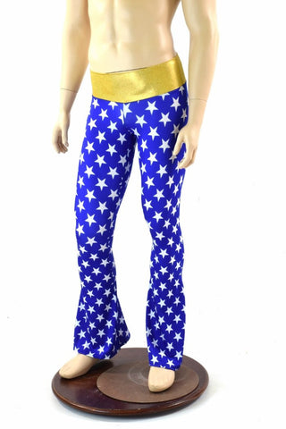 Mens Super Hero Bootcut Pants - Coquetry Clothing