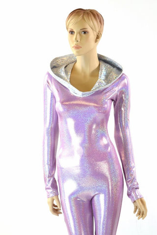 Lilac Space Girl Catsuit - Coquetry Clothing