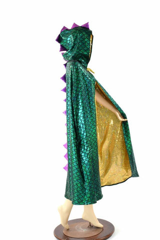 Mardi Gras Hooded Cape