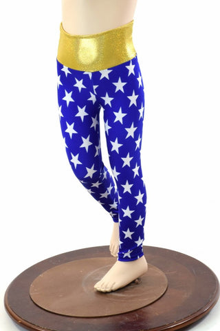 Kids Superhero Leggings