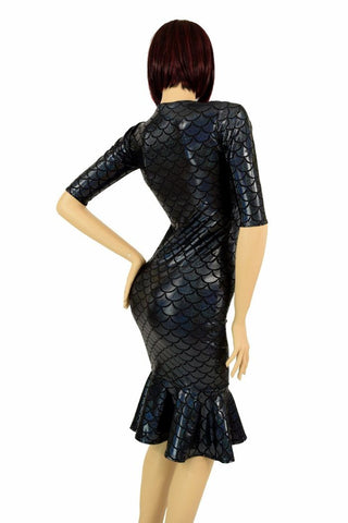 2adf1504571 ... Black Mermaid Wiggle Dress - Coquetry Clothing ...