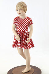 Build Your Own Kid's Cap Sleeve Skater Dress - Coquetry Clothing