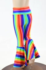 Kids Rainbow Bell Bottoms - Coquetry Clothing