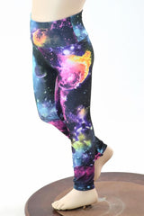 Kids UV Glow Galaxy Leggings - Coquetry Clothing