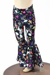 Kids Unicorns & Rainbows Bell Bottom Flares - Coquetry Clothing