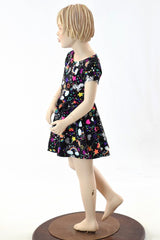 Girls Unicorns and Rainbows Dress - Coquetry Clothing