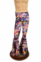Mens Meteorite Bell Bottom Flares - Coquetry Clothing