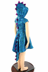 Girls Dragon Tail Skater Dress - Coquetry Clothing