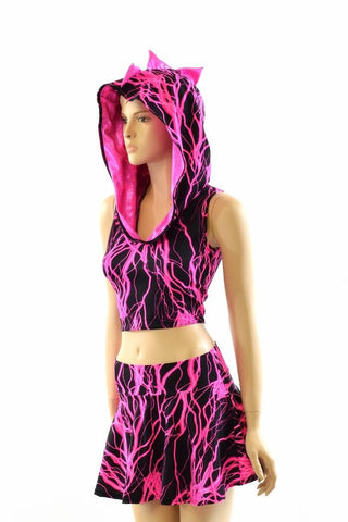 Pink Lightning Dragon Set - Coquetry Clothing