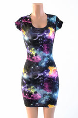 UV Glow Galaxy Dress