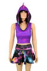 Galaxy Dragon Hoodie & Skirt Set - Coquetry Clothing