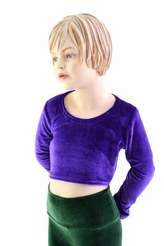 Girls Long Sleeve Purple Top (TOP ONLY)