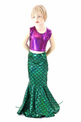 Girls Mermaid Skirt (Skirt Only) - Coquetry Clothing