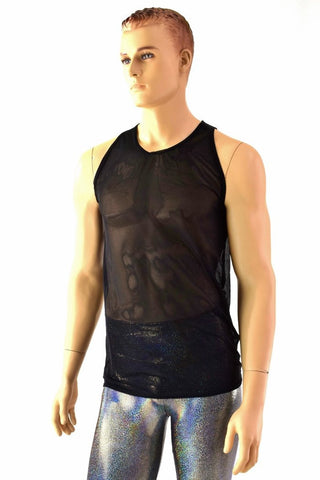 Mens Mesh Muscle Shirt - Coquetry Clothing