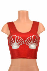 Build Your Own Seashell Crop Top - Coquetry Clothing