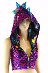 Build Your Own Zip-Up Dragon Crop - Coquetry Clothing