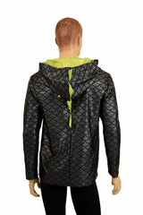 Mens Long Sleeve Dragon Hoodie - Coquetry Clothing