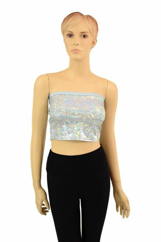 Frostbite Shattered Glass Tube Top - Coquetry Clothing