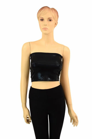Black Mystique Tube Top - Coquetry Clothing