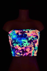 Acid Splash Tube Top - Coquetry Clothing