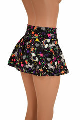 Unicorns and Rainbows Mini Rave Skirt - Coquetry Clothing