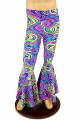 Mens Glow Worm Bell Bottom Leggings - Coquetry Clothing