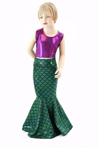 Girls Mermaid Skirt (Skirt Only)