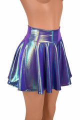 Moonstone Circle Cut Rave Skirt - Coquetry Clothing