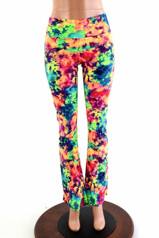 Acid Splash Boot Cut Leggings