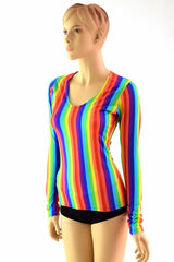 Rainbow Longsleeve Top - Coquetry Clothing