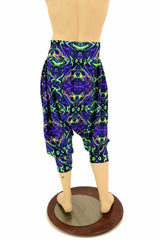 "Neon Melt ""Michael"" Pants with Pockets - Coquetry Clothing"