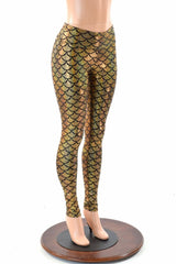 Gold Mermaid Leggings - Coquetry Clothing
