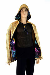 "35"" Reversible Cape - Coquetry Clothing"