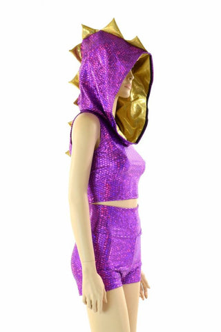 Purple & Gold Spyro Dragon Set - Coquetry Clothing