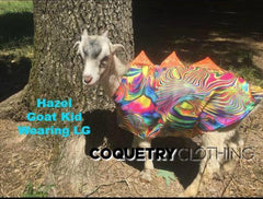 Blue Sparkly Jewel Holographic Pet Shirt - Coquetry Clothing