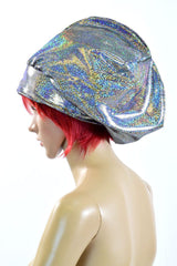 Silver Holographic Tam - Coquetry Clothing