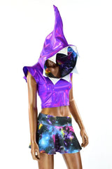 Purple & Galaxy Shark Set - Coquetry Clothing