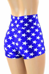 Super Hero High Waist Shorts - Coquetry Clothing