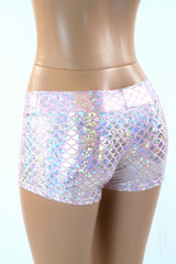 Pink Mermaid Lowrise Shorts - Coquetry Clothing