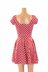 "Cap Sleeve ""Minnie"" Skater Dress - Coquetry Clothing"
