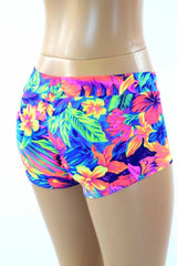 Tahitian Floral Lowrise Shorts
