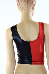 Harlequin Crop Tank Top - Coquetry Clothing
