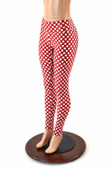 Polka Dot High Waist Minnie Leggings - Coquetry Clothing