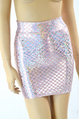 Pink Bodycon Mermaid Skirt - Coquetry Clothing