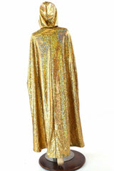 Gold & Glow Worm Reversible Cape